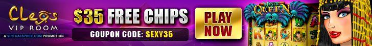 Cleos VIP Room Review exculsive $35 no deposit bonus