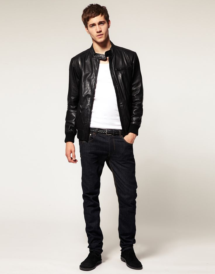 The 25  best Best mens leather jackets ideas on Pinterest | Polo ...