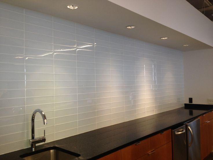Aon Corporate Backsplash Chicago Illinois Mid America Tile Sales Representative Carol Kotel