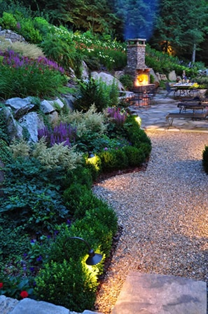 Backyard Waterfall   Landscape Design Portfolio