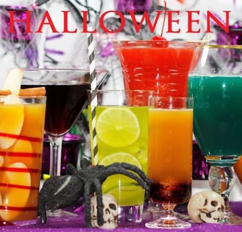 lots of great halloween drinks - Great Halloween Drinks
