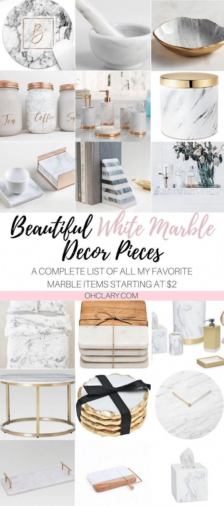 White Marble Is All The Rave Right Now It Can Really Make Any