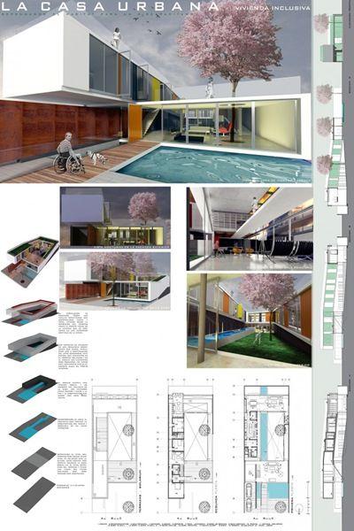 Resultados del Concurso La Casa Urbana Eternit: Casas con Sistema de Construcción Ligero