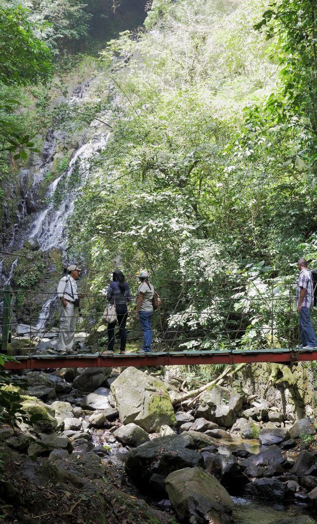 El Valle de Antón - El chorro de El Macho está en el medio del bosque lluvioso.
