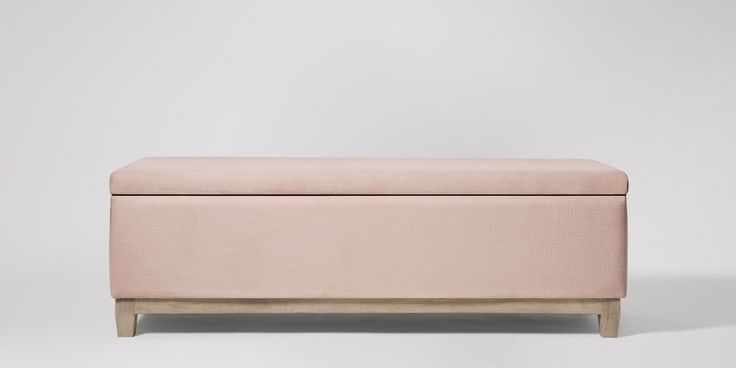 Holden Dusty Pink ModernBench | Swoon Editions