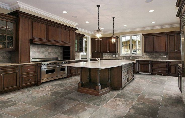 Kitchen Tile Flooring Ideas ~ http://lanewstalk.com/kitchen-tile-flooring-ideas-for-new-look/