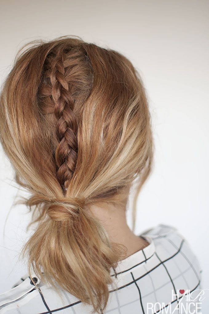 Fashion week braids - the hidden braid tutorial you have to try