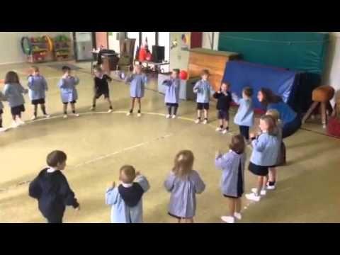 Schrijfdans Ok1: de vulkaan - YouTube