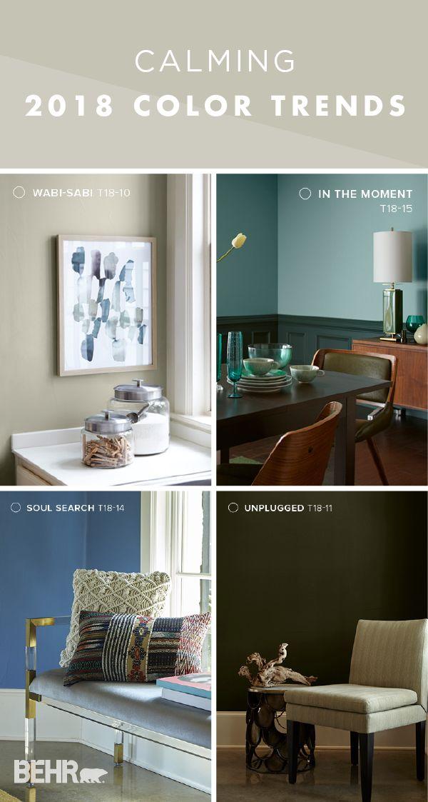 105 best behr 2018 color trends images on pinterest 2018 color notebook and notebooks. Black Bedroom Furniture Sets. Home Design Ideas