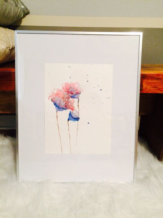 Check out this item in my Etsy shop https://www.etsy.com/listing/481257441/fall-flowers-watercolor-painting-modern