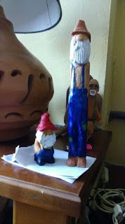Klaven Art: obo caricature carving
