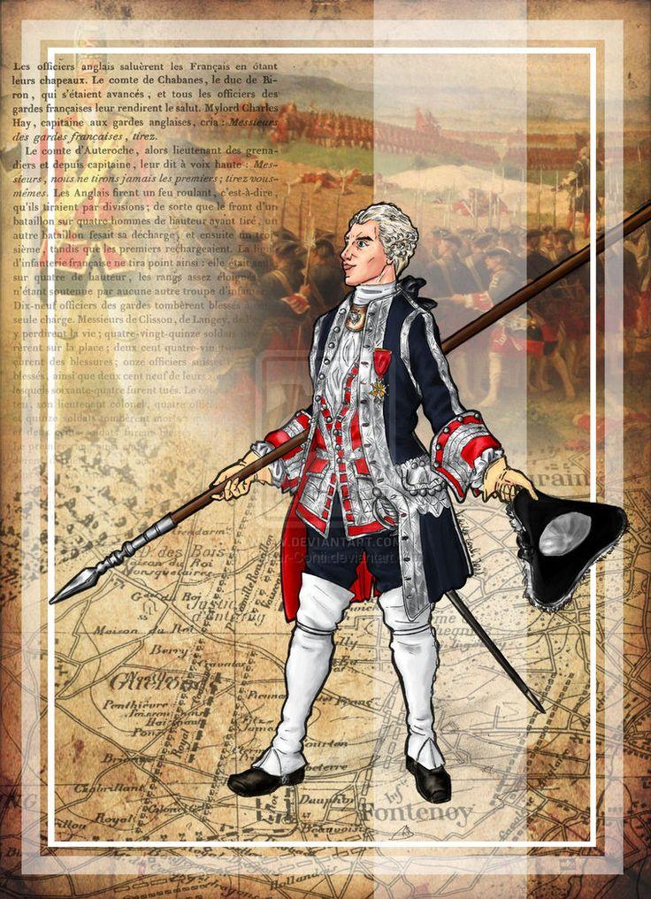 Offizier der Garde-Française