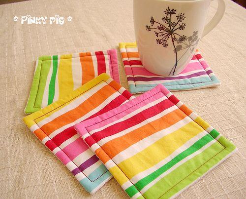 Rainbow Stripes by pinkypigs, via Flickr