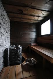 Dark wood, grey stone