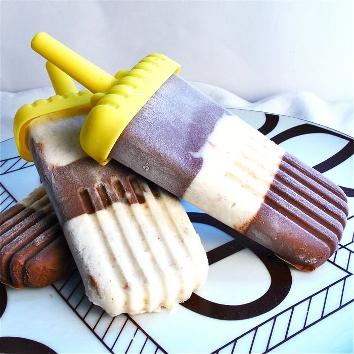 Chocolate Cheesecake Ice Pops - think these could become addicting