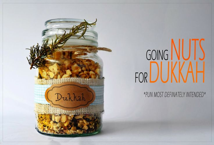 Homemade spicy Dukkah! Perfect as a gift or just for yourself!