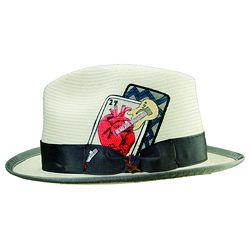 1950s Mens Inspired Mens Hat  http://www.vintagedancer.com/1950s/1950s-mens-clothing/