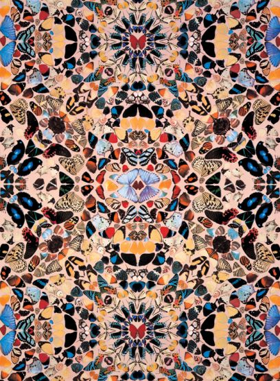 Damien Hirst – Butterfly Wallpaper