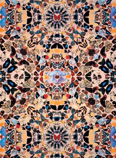 Damien Hirst – Butterfly Wallpaper