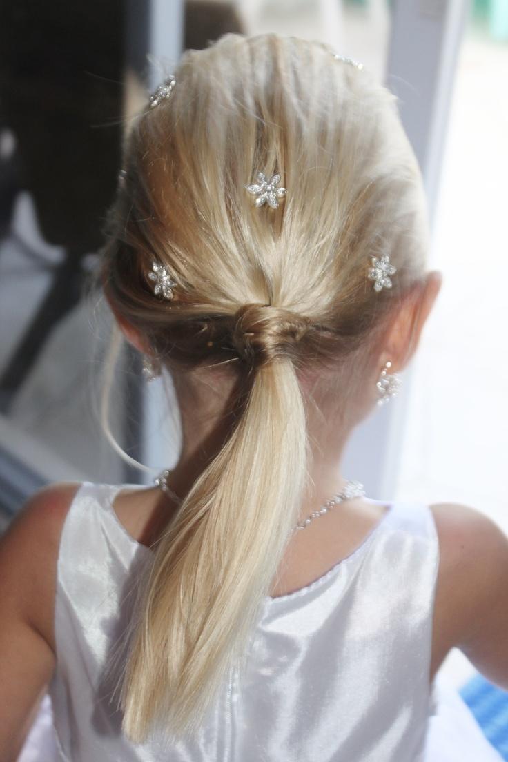 Flower girl Hair Style @Stephanie Noblitt- Smith