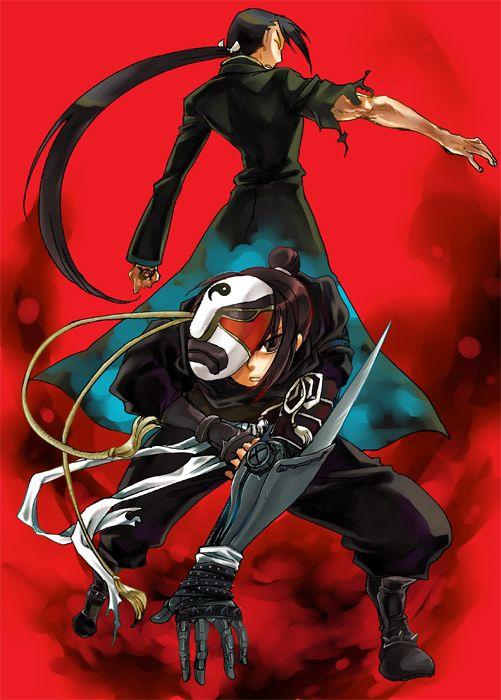 Ling Yao (Greeg/Ling) and Lan Fan. (Fullmetal Alchemist: Brotherhood).