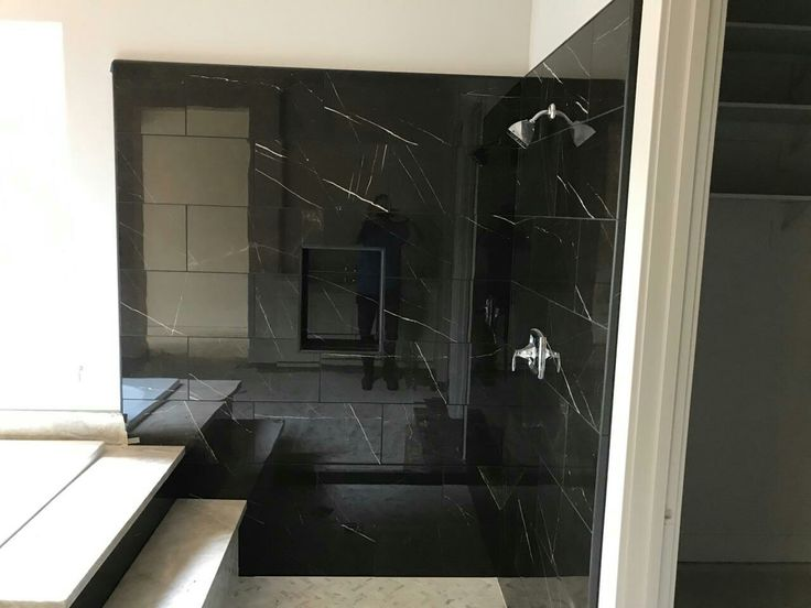 Daltile Ma83 Polished Nero Marble Attach 233 In 2019