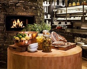 The Woods Restaurant at Four Seasons Hotel Sydney Opens - Butcher's block and wood-fired oven