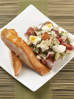 Fatoush and Salmon Salad.  IGA Supermarkets - Independent Grocers of Australia |