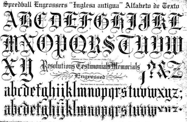 In case you were searching: Gothic alphabet for tattoos.