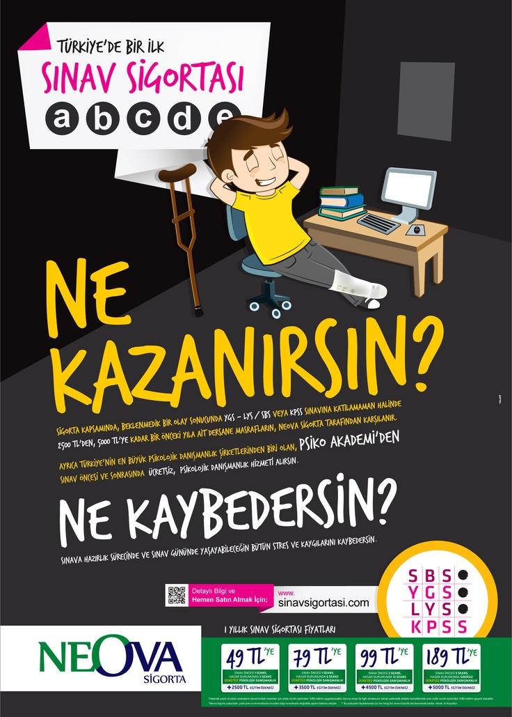 """Türkiye'de bir ilk Neova ile sınavınız güvende """" Lys , Ygs , Kpss """" artık dert değil"""
