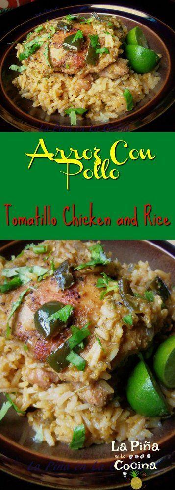 Chicken and Rice(Arroz Con Pollo) #chickenandrice #arrozconpollo