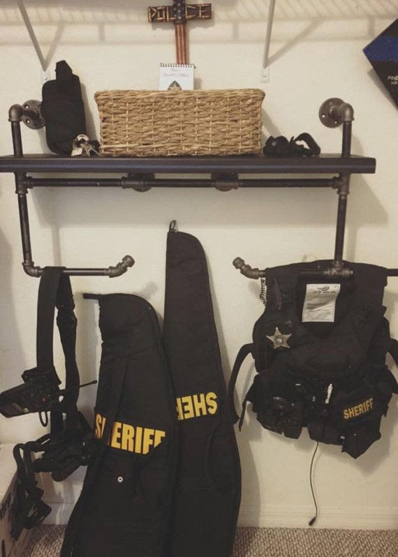 This Is A Custom Made Wall Mount Cop Caddy Industrial Design