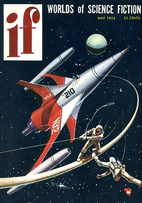 Ed Valigursky : If worlds of science fiction, May.1954