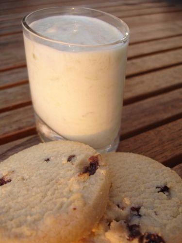 Rhubarb Fool (dessert anglais du 17ème siècle et mélange de purée de fruits et de crème ou yaourt)