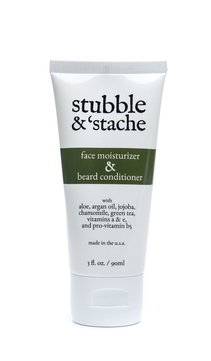 Face Moisturizer and Beard Conditioner | stubble & 'stache