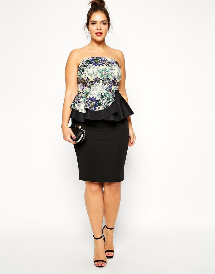 26 best Plus Size Wedding Guest Outfits images on Pinterest | Asos ...