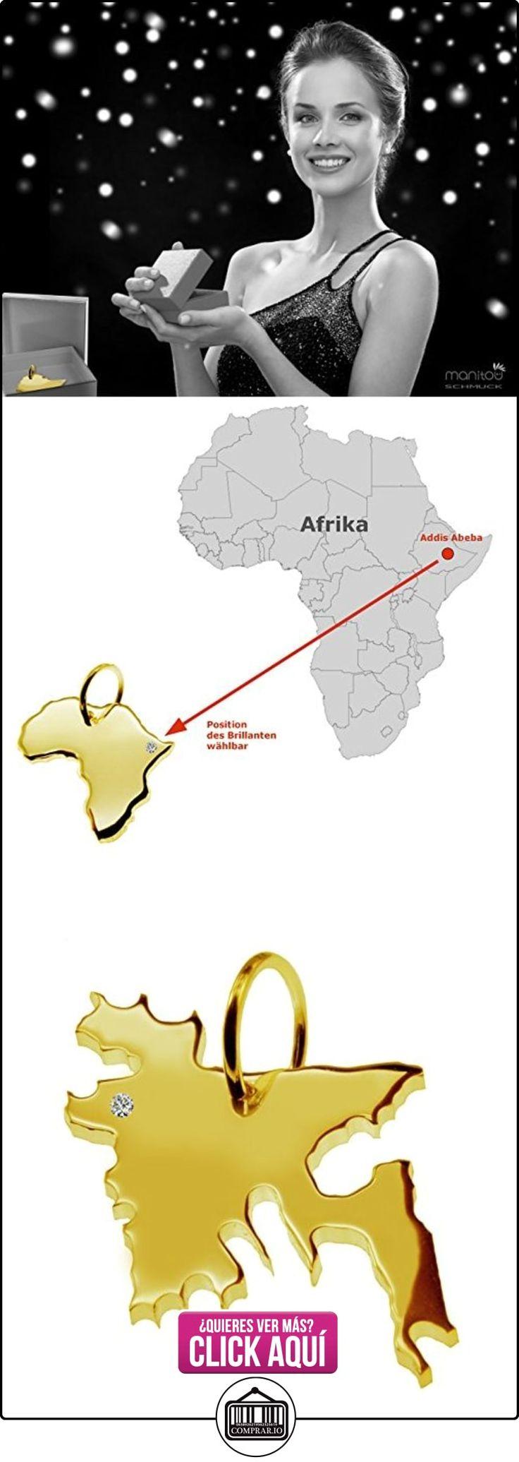 Exclusivo Bangladesh Mapa Colgante con brillante en su 0,015(Posición a elegir.)–maciza de oro amarillo 585, Deutsche artesanal–585er Oro de joyas  ✿ Joyas para hombres especiales - lujo ✿ ▬► Ver oferta: https://comprar.io/goto/B01N55T6MK