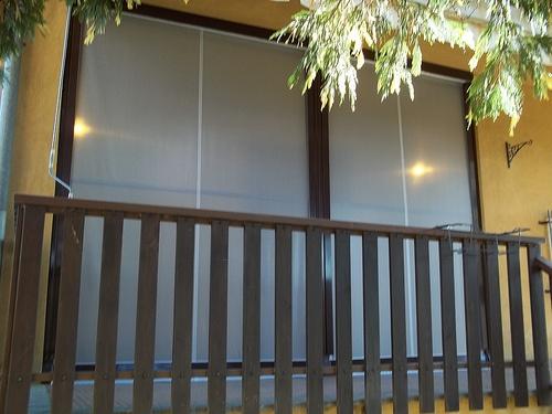 Tenda veranda invernale ermetica con frangivento e tessuto VINITEX retinato antingiallimento Torino www.mftendedasoletorino (10)