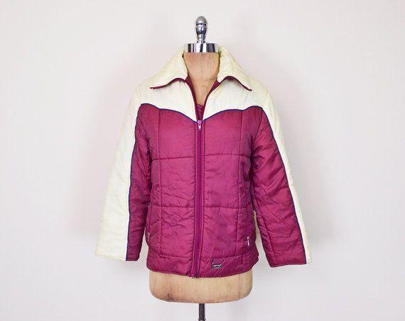 Cool Jackets #Vintage #70s #Burgundy #Maroon Red #Puffer #Jacket #Coat Puffy Jacket #Ski Jack... Check more at http://myshop.gq/fashion/jackets-vintage-70s-burgundy-maroon-red-puffer-jacket-coat-puffy-jacket-ski-jack/