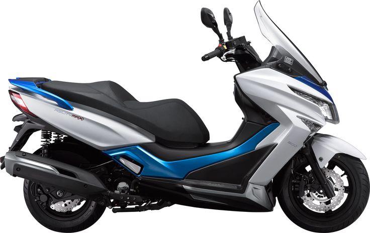 Le Kymco Agility Maxi 125 est un scooter GT compact et économique