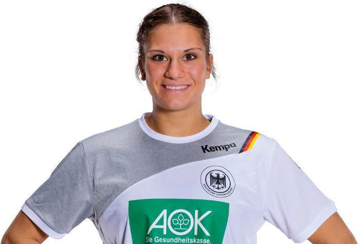 Handball WM 2017 Deutschland: Julia Behnke vor Deutschland vs. Serbien, DHB, Ladies, SPORT4FINAL, Interview, Michael Biegler, Anna Loerper
