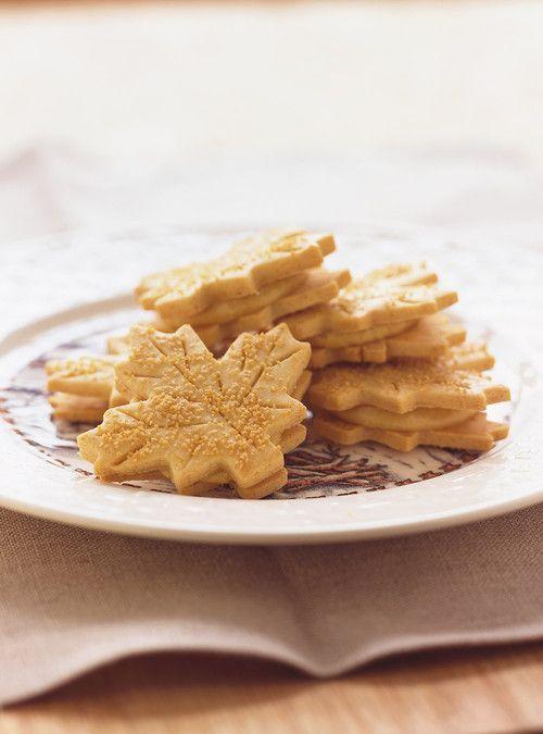 Biscuits feuilles d'érable Recettes | Ricardo