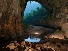 Las cuevas de Vietnam Algo que puede sorprender.