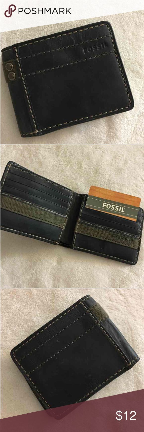 Fossil Wallet (men) New without tag Wallet/credit card slots Fossil Bags Wallets