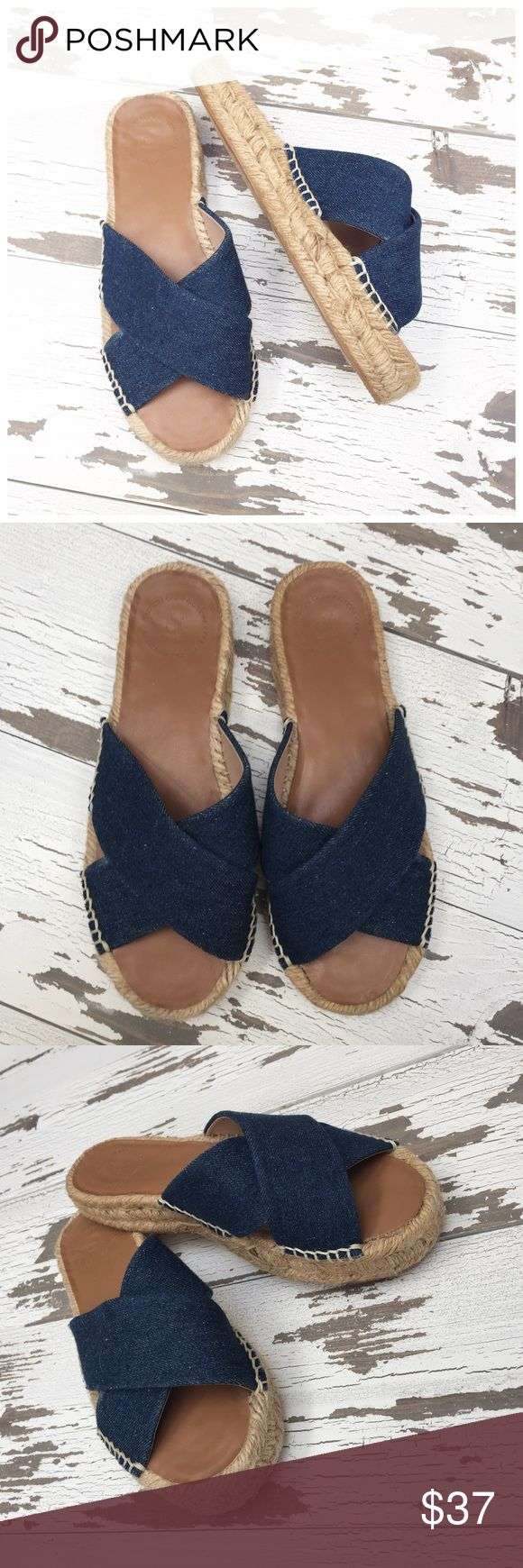 🌟NWOT🌟 Never Worn French Connection Espadrilles Shoes have never been worn and are in perfect like new condition. 1 inch platform sole. French Connection Shoes Espadrilles
