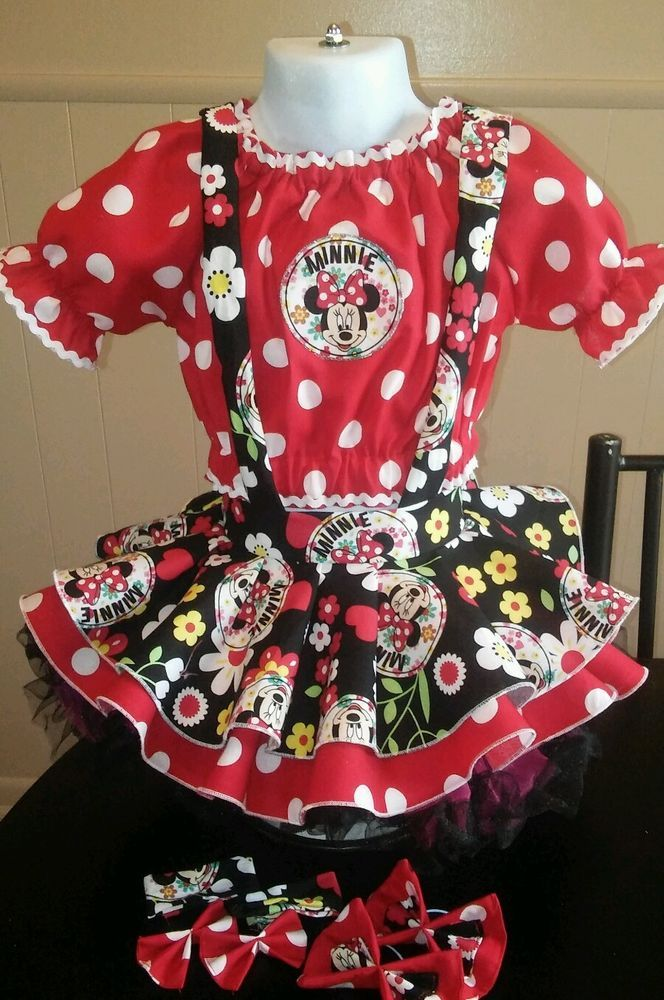 National Pageant Casual Wear OOC. Minnie Mouse 18mos-3t #Handmade #DressyEverydayHoliday