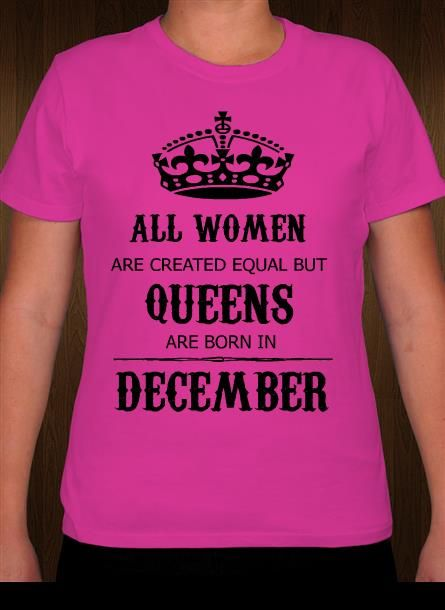 Queens Are Born In Birthday Month T Shirt Design Idea And Template