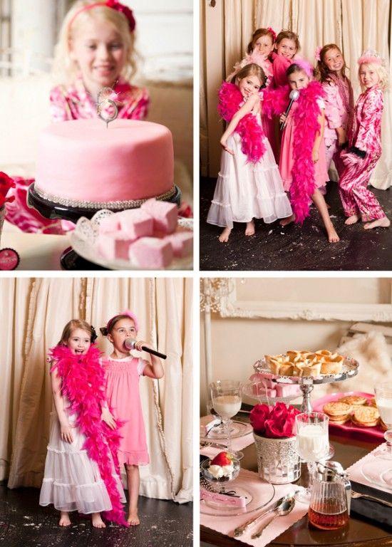 Pajama Glam Party