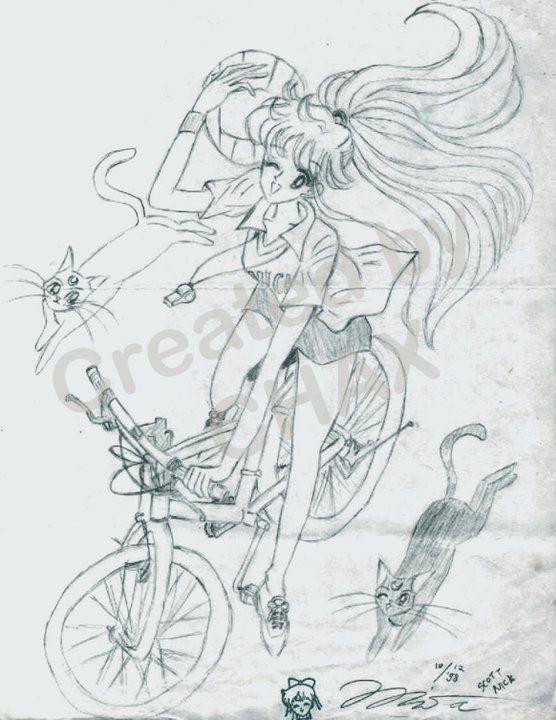 Minako, Luna, Artemis