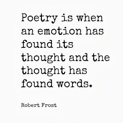 the emotions explored in the poems Feelings, are explored sample poems and lessons are discussed, and several  additional exercises are appended most of the poetry used was written by the.